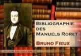 Bibliographie des manuels Roret