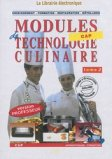 CD Modules techno culinaire 2 - prof