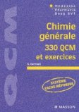 Chimie g�n�rale 330 QCM et exercices