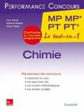 Chimie 2�me ann�e MP MP* PT PT*