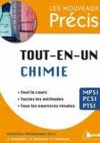 Tout-en-un Chimie MPSI- PCSI - PTSI