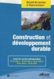 Construction et développement durable