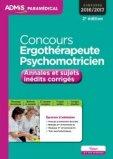 Concours Ergoth�rapeute et Psychomotricien
