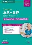 Concours AS et AP - Épreuve orale et tests d'aptitude - Spécial dispense