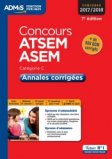 Concours ATSEM et ASEM - Catégorie C - Annales corrigées