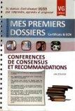 Conférences de consensus et recommandations