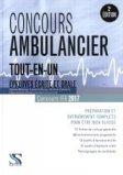 Concours ambulancier 2016-2017 tout en un