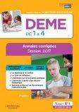 DEME - Épreuves de certification DC 1 à 4 - Annales corrigées