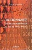 Dictionnaire français-arménien des termes mathématiques