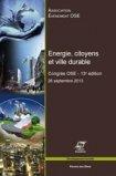Energie, citoyens et ville durable
