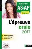 Épreuve orale 2017 AS AP