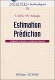 Estimation, prédiction