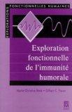 Explorations fonctionnelles de l'immunité humorale