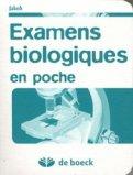 Examen biologiques en poche