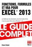Fonctions, formules et VBA pour Excel 2013