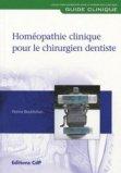 Homéopathie clinique pour le chirurgien dentiste