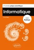 Informatique avec python 2eme annee prepa scientifique