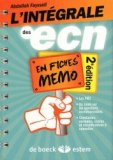 L'intégrale des ECN en fiches memo