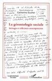 La gérontologie sociale