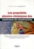 Les propri�t�s physico-chimiques des mat�riaux de construction