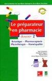 Le préparateur en pharmacie Dossier 2