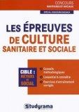 Les épreuves de culture sanitaire et sociale