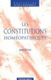 Les constitutions homéopathiques