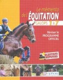 Le mémento de l'équitation Galops 1 à 7