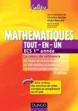Mathématiques Tout-en-un ECS 1re année