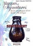 Marques et signatures de la céramique d'art de la Côte-d'Azur