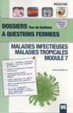 Maladies infectieuses - Maladies tropicales - Module 7