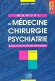Manuel de médecine chirurgie psychiatrie