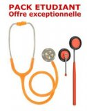 PACK ETUDIANT - St�thoscope Magister + Marteau r�flex Spengler ADULTE - ORANGE