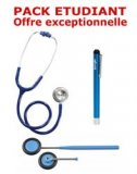 PACK ETUDIANT - St�thoscope Magister - Marteau r�flex Spengler - Lampe stylo � LED Litestick Spengler - BLEU MARINE