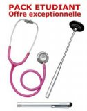 PACK ETUDIANT - St�thoscope Magister - Marteau r�flex Spengler - Lampe stylo � LED Litestick Spengler - ROSE