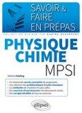 Physique-chimie MPSI