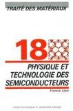 Physique et technologie des semiconducteurs (TM volume 18)