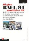 Règles BAEL 91 modifiées 99