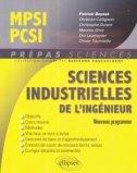 Sciences industrielles pour l'ingénieur MPSI-PCSI