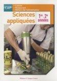 Sciences appliquées 1re et 2e années - CAP cuisine et restaurant - Pochette élève