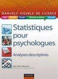 Statistiques pour psychologues