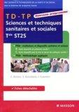 TD - TP Sciences et techniques sanitaires et sociales Tale ST2S