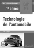 Technologie de l'automobile CAP 1re année (2017)