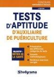 Tests d'aptitude d'auxiliaire de puériculture