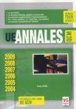 UE Annales ECN QCM 2004-2009