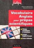 Vocabulaire anglais pour les prépas scientifiques