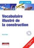 Vocabulaire illustré de la construction