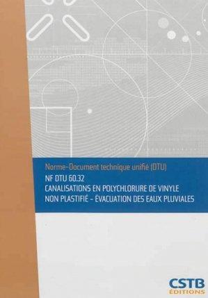 nf dtu 6032 canalisations en polychlorure de vinyle non