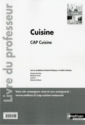 cuisine cap cuisine 1re et 2e ann es collectif 9782091647920 nathan etudes h tellerie. Black Bedroom Furniture Sets. Home Design Ideas