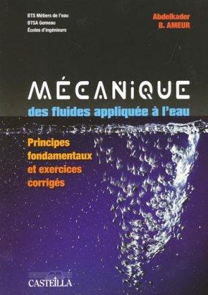 mecanique des fluides 2e edition cours et exercices corriges physique